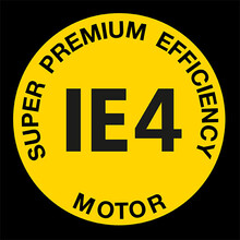 Logo for Super Premium Efficency IE4-drivmotor